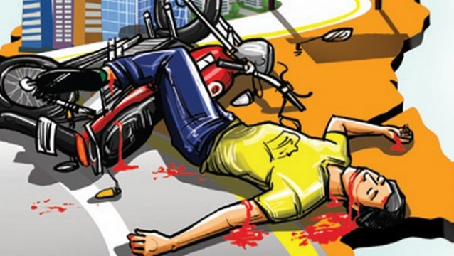 Speed Car wale ne Biker ko maari takkar Bikers ki death at WEH Dahiser Car driver arrested
