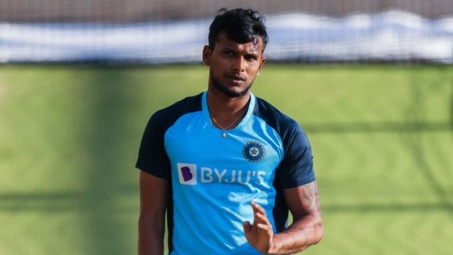 T Natrajan to Replace Umesh Yadav in Indias 3rd Test Sqaud
