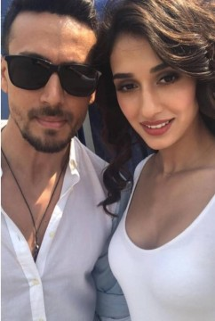 Tiger Shroff and Disha Patani