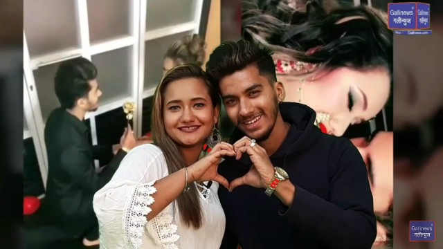 Tik Tok Viral Girl Shanaya Khan and Fiance Masroor Chougle Valentines Day Special Episode