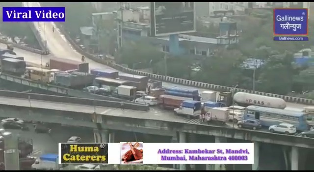 Trafic jaam in Thane Viral Video