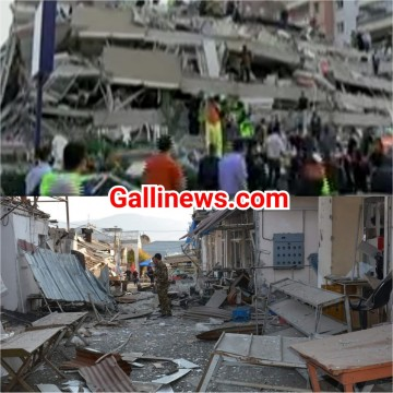 Turkey Earth Quake main Building girne se 26 logon ki death 800 se zyada injured