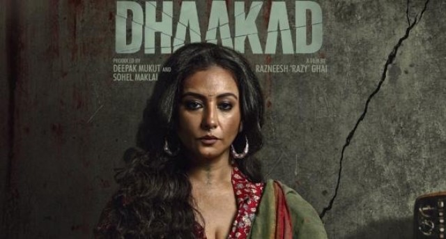 Up Coming Movie Dhakad starrer Divya Datta and Kangana Ranaut