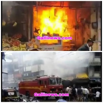 Vada Pav Shop ka Gas Cylinder Blast 1 Dead 11 Injured at Ulhas Nagar District Thane