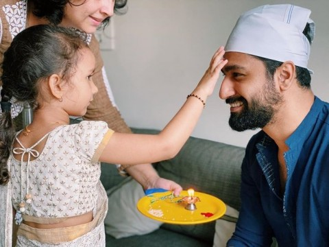 Vicky kaushal Raksha Bandhan celebration picture has to be the most adorable one yet hands down