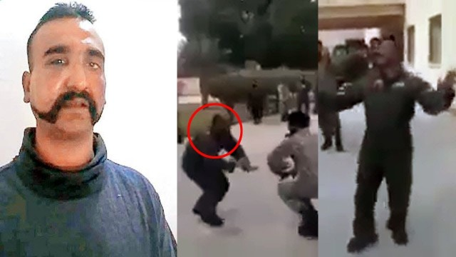 Viral Sach of Fake Video Pilot Abhinandan Dancing with Pakistani Soldiers