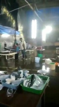 Viral Video of water logging Nair Hospital at MumbaiCentral