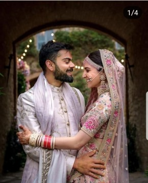Virushka ki 1st Wedding Anniversary par Unseen Wedding Videos aur pictures Couple ne kiye Share