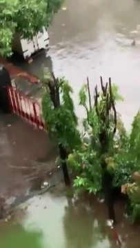 Water Logging in Kurla East due to heavy Rainfall