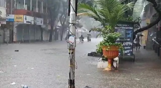 Water logging near Dadar East Station