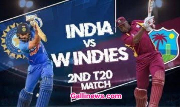 West Indies Won against India by 8 wickets in 2nd T20 series