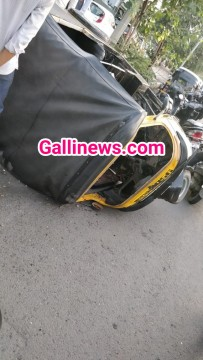 Accident at Western Express Highway