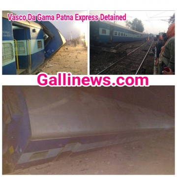 Vasco De Gama Patna express train accident Death toll rises to three seven injured
