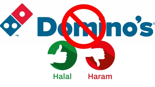 Muslims Alert Dominos Pizza Haalal Food nahi Deta