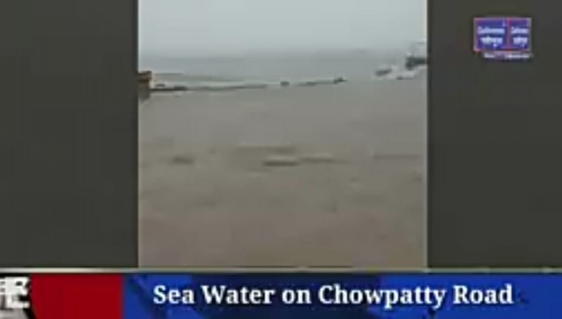 Sea Water on Chowpatty Road