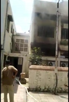 Fire at ICU Ward Hospital in Pune