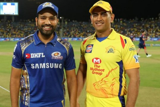 IPL First Match CSK Win Match against MI at UAE