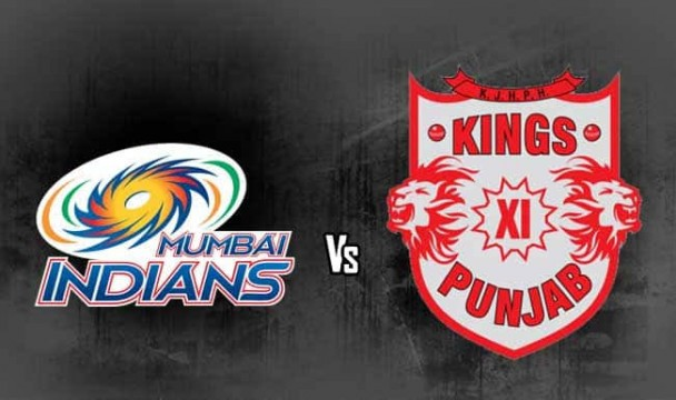 Mumbai Indians Beats Kings XI Punjab IPL Day 13
