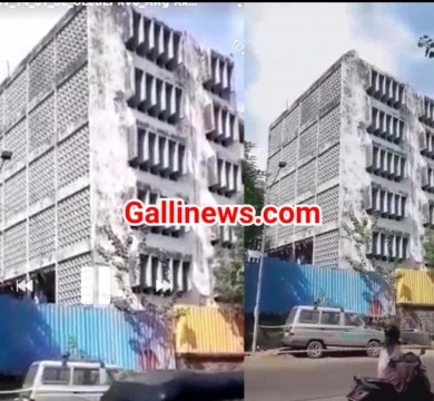 Live Demolation of Siddharth Hospital At Goregaon By BMC