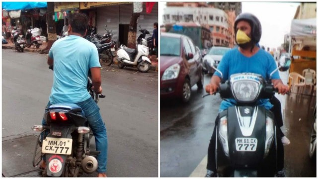 Traffic Violation fine se pareshan Violation kis ka Fine Dusre ko | 2 Bike par Same Number plate