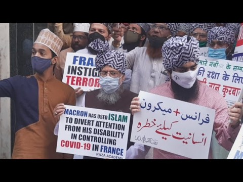Protest Against France  by Raza Academy