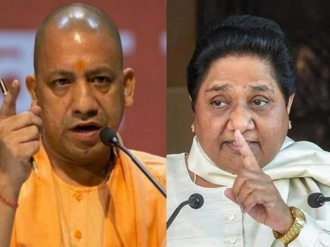 ECI Bars Yogi Adityanath & Mayawati From Campaigning For Making Communal Speeches  Ali and Bajrangbali Remark