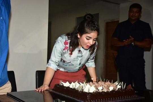 Heres wishing the DANGAL girl Zaira Wasim a very happy birthday