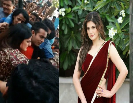 Zareen khan ne Thappad Maara Youth ko Inappropriatly Touch karne par