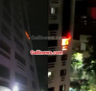 Fire in Residental Building at Wagle Estate Thane