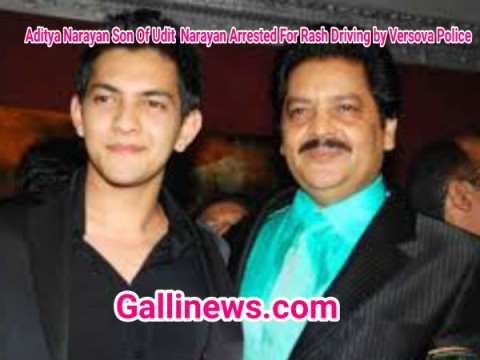 Aditya Narayan Son Of Udit  Narayan Arrested For Rash Driving by Versova Police