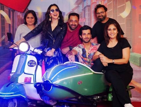 Advani kiara and Aditya Seal  wrap up shooting for Indoo Ki Jawan