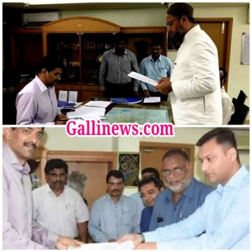 AIMIM MLA Akbaruddin Owaisi filed nomination from Hyderabad Parliamentary constituency