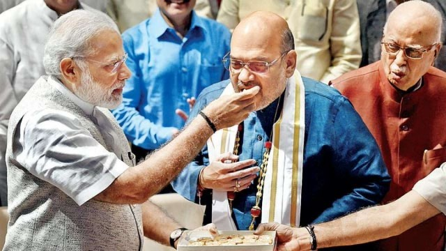 PM Modi Aur Rajnath Singh Ne Amit Shah Ko Di Greetings On Birthday