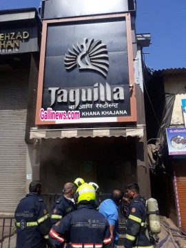 Fire At Tequila Bar Goregaon