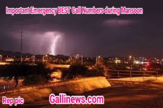 Important Emergency BEST Call Numbers during Mansoon