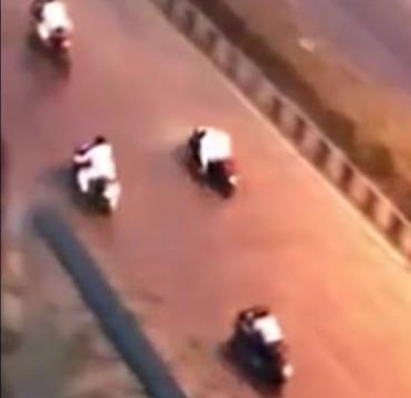 Speed Racing 4 Riders trapped and Caught by Versova Police