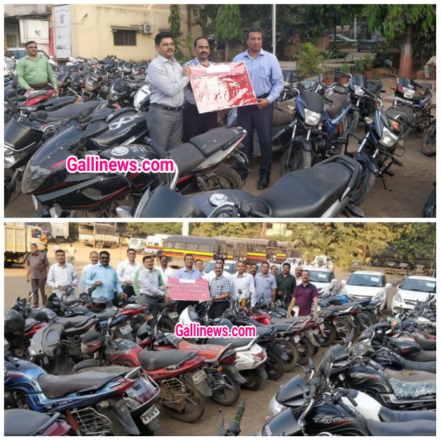 230  Chori ke Bike & Cars seized  156 Arrested by thane Crime Branch