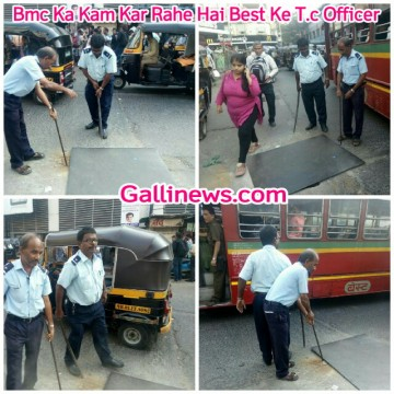 Bmc Ka Kam Kar Rahe Hai Best Ke TC Officer