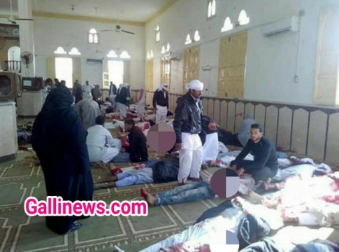 Jumma Ki Namaz K Waqt Huwa Terrorist Attack In Egypt 235 Dead and 150 injured