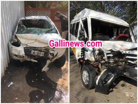 Accident hua full speed  Out of control Car ka Tempo Traveller se 2 dead, 3 Injured at Pune