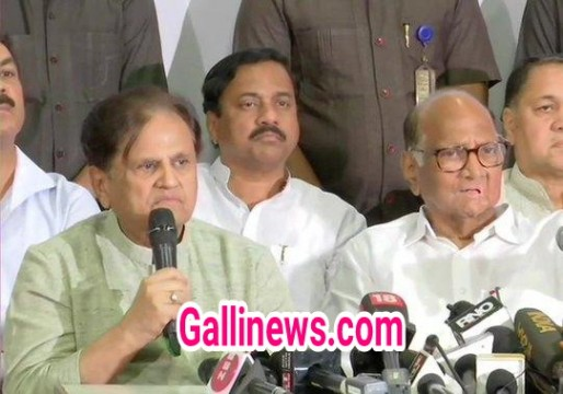 BJP  Shivsena  NCP ko mauqa mila sarkar banane ka Congress ko nahi we condemn it says Ahmed Patel