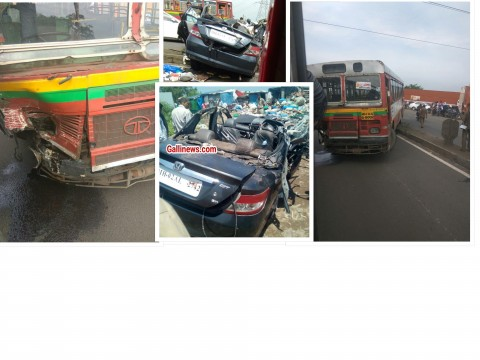 Thane Car Accident 2 Dead 2 Injured