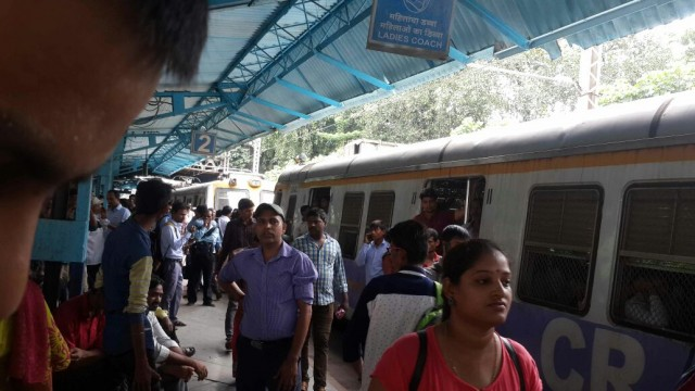 Harbour line affected