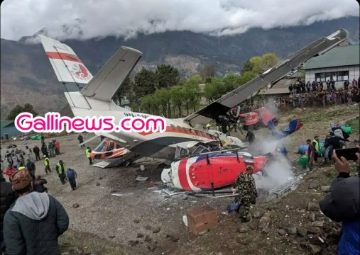 3 Died And 4 Injured in a Plane crash at Nepal