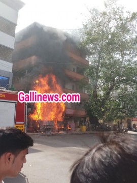 Fire at Darbar Hotel in Dombivli