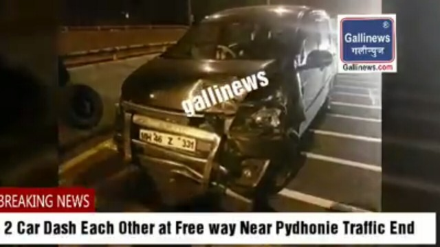 Drunk and Drive Accident 2 Car Dash Each Other at Free way Near Pydhonie Traffic End