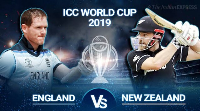 England Cricket Team Pohnachi ICC World Cup 2019 ke final main
