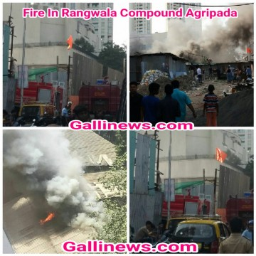 Fire In Rangwala Compound Agripada