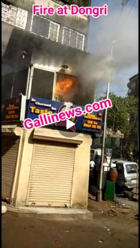 Fire at Dongri Fried Chicken Resturant FCC