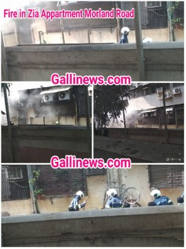 Fire at Zia Appartment Morland Road Mumbai Central